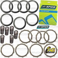 Apico Clutch Kit Steel Friction Plates & Springs For Honda CRF 450R 2005 MotoX