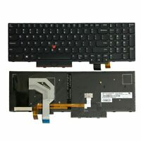 New for Lenovo IBM Thinkpad P51S P52S T570 T580 US Keyboard 01HX248 with Backlit