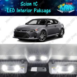 White LED Interior Map Dome + Reverse Light Package Kit For Scion tC 2005-2016