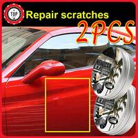 2Pcs Car Coating Wax Anti Scratch Car Polish Liquid Nano Ceramic Coat Detailing