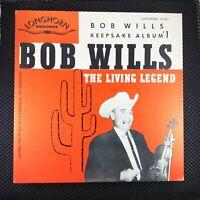JACKET ONLY NO ALBUM Bob Wills – Keepsake Album No. 1 (Longhorn – LP-001)