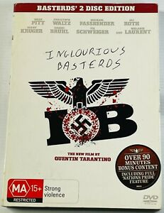 Inglourious Basterds (2-Disc Special DVD Edition) PAL Region 4 Free Postage