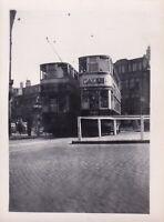 Original real photograph Birmingham 733 & 738 tram tramcar circa 1940 vintage