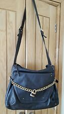 Chloe  Paddington Dark Rrown-[nearly black] Leather Shoulder/Messenger bag VGC
