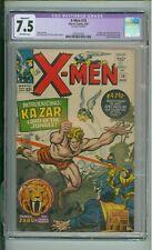 X-Men #10  7.5 CGC 1st Silver age App Of Ka-Zar 1965