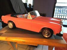 Vintage BARBIE Car Zima Pink Rolls Royce Convertible!