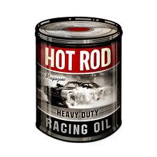 Hot Rod Magazine Racing Oil Dose Oldsmobile Muscle Car Sign Blechschild Schild