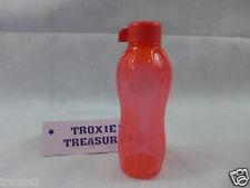 Tupperware Eco Sports Water Bottle 16oz 500ml Small Travel Kids Bottle Red New
