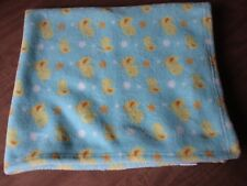 Rare PB Piccolo Bambino Yellow Plush Duck Ducky Stars Dots Baby Security Blanket