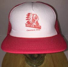 Vintage CHIEFTAIN TRUCKING CO 70s 80s Hat Cap Snapback Freight Cleveland Ohio