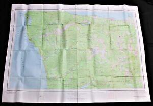 OLYMPIC NATIONAL PARK WASHINGTON QUADRANT TOPOGRAPHIC SURVEY MAP 1957 VINTAGE