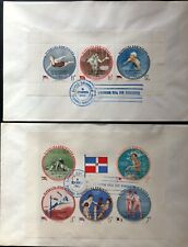 Dominican Republic #B38a,CB23a Imperf Sheets on 1962 Cover