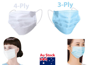 Face Mask Protective Dental Surgical Ear Loop 3 Ply 4Ply Dust Odour Resistance