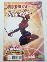 THE AMAZING SPIDER-MAN #14 (2015) MARVEL ULTIMATE WEB-WARRIORS VARIANT 1:10