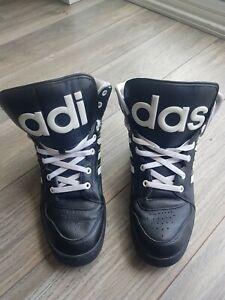 Adidas Jeremy Scott Instinct Hi Black Trainers UK size 9
