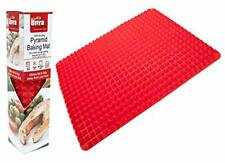 Silicone Pyramid Cooking Baking Mat Non Stick Fat Reducing Baking Sheet Trivet