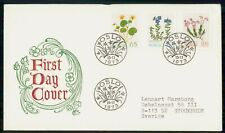 Mayfairstamps Norway Fdc 1973 Cover Flower Series Combo wwk29633