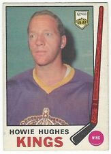 1969-70 OPC HOCKEY #142 HOWIE HUGHES 2ND YEAR - VG+/EX-