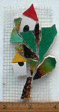 "Birdhouses &  4"" Tree Broken - Cut China Mosaic Tiles"