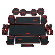 For Toyota Reiz 10-2013 Rubber Mat Non-slip Mat Interior Cup Pad Door Groove Mat