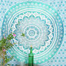 Indian Mandala Wall Hanging Queen Size Tapestry Hippie Decor Bed Sheet Throw Art