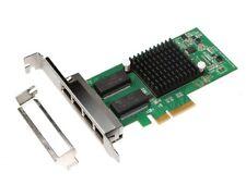 INTEL i350-AM4 Quad Port Gigabit PCI-e X4 Network Server Adapter i350-T4 NIC