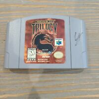 Mortal Kombat Trilogy N64 Nintendo 64 Midway Fighting Video Game Cartridge Only