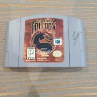 Mortal Kombat Trilogy N64 Nintendo 64 Midway Fighting Video Game Cartridge Only