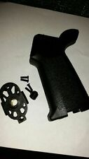 MOE style Airsoft AR Grip - New Complete with base plate and screws