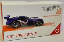 Hot Wheels ID Series 1 Speed Demons SRT Viper GTS-R