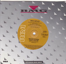 RICK ASTLEY Never Gonna Give You Up / (Instrumental) 45