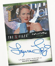 Laura Leigh Hughes The X Files Ufos & Aliens Paranormal Script Autograph Card