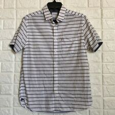 Cactus Man slim fit striped chambray button down