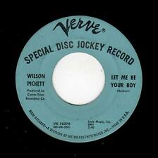 NORTHERN SOUL-WILSON PICKETT-LET ME BE YOUR BOY/MY HEART BELONGS TO YOU-VERVE 10