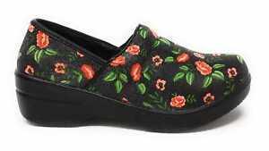 Clogs For Women Nurse Shoes Slip Resistant Shoes For Women Black Ivy Full Size