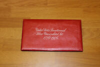 1976 United States Mint Silver 3 Piece Bicentennial Uncirculated Coin Set