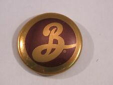 BEER BUTTON Pinback <*> BROOKLYN Brewery <*> NEW YORK Craft Brewery Collectible