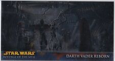 STAR WARS TOPPS REVENGE OF THE SITH WIDEVISION ROTS RETAIL CHROME FOIL INSERT R9