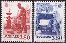 Denmark 1986 Mi 882-883 Europa; Nature Protection MNH