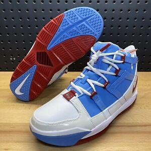 "Nike Zoom LeBron 3 III QS ""Houston Oilers"" Blue James AO2434 400 Men's Size 9"