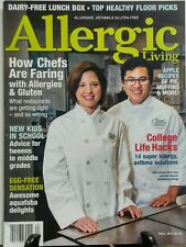 Allergic Living Fall 2016 How Chefs Are Faring With Allergies FREE SHIPPING sb