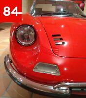 +Ferrari Dino 206 246 330 365 GT GT4 GTS 2x Scheinwerfer EU E-Prüfzeichen+