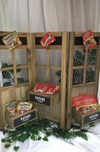 70cm Wooden Folding Table Top Event Display