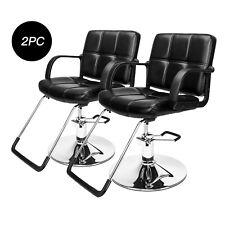 Set of 2 Hydraulic Barber Chair Styling Salon Beauty Shampoo Spa Hair Equipment