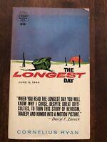 The Longest Day by Cornelius Ryan (1962 Paperback)