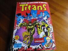 TITANS n° 114 de 1988 X-MEN - VENGEUR DE LA COTE OUEST TBE comme neuf