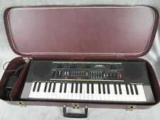 Vintage CASIO Casiotone MT-210 Electronic Keyboard w/ Case - Tested Works Great!