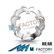 Rear Brake Disc x1 Fit YAMAHA WR400 F 1998-2000 98 99 00