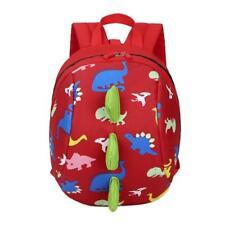 Cartoon Baby Toddler Kids Dinosaur Safety Harness Strap Bag Backpack + Reins UK
