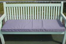 Garden Furniture Cushion- 3 Seater Garden Bench Cushion in Light Grey